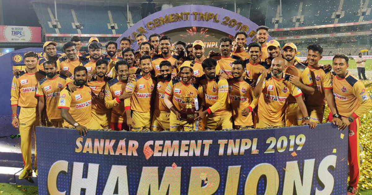 Chepauk Super Gillies beat Dindigul Dragons to win second TNPL title in three years