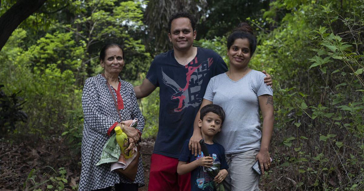 A family that has planted 6,000 trees in Mumbai wants others to take a leaf out of their book