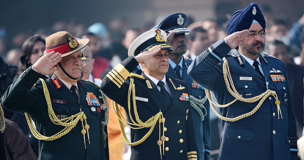 Chief of Defence Staff : Will the position put an end to the inter-service tussles in India?