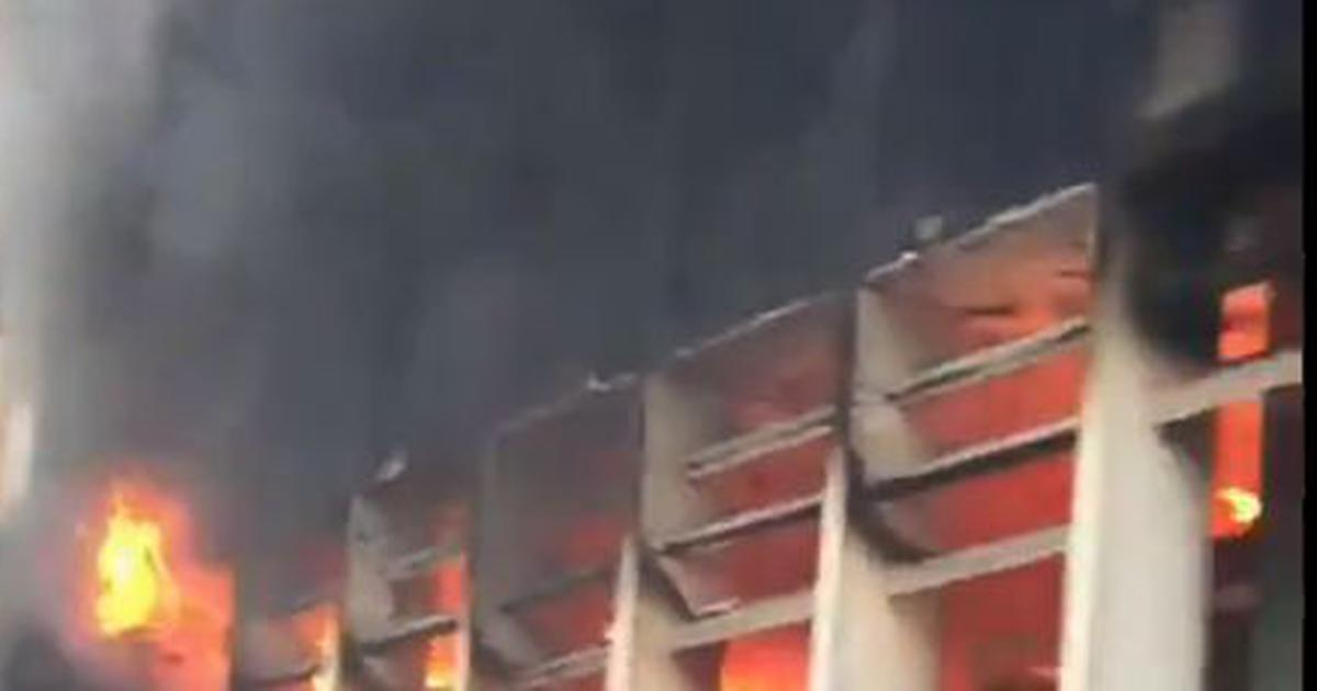 Delhi: Fire breaks out near emergency ward at AIIMS, no casualties reported