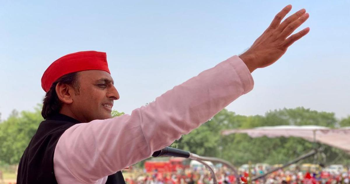 Farm law protests: Akhilesh Yadav detained during protest against legislations in Lucknow
