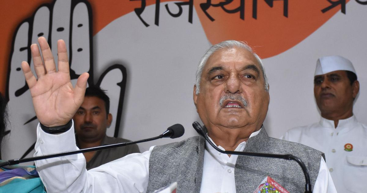 The big news: Bhupinder Singh Hooda criticises Congress's position on J&K, and 9 other top stories