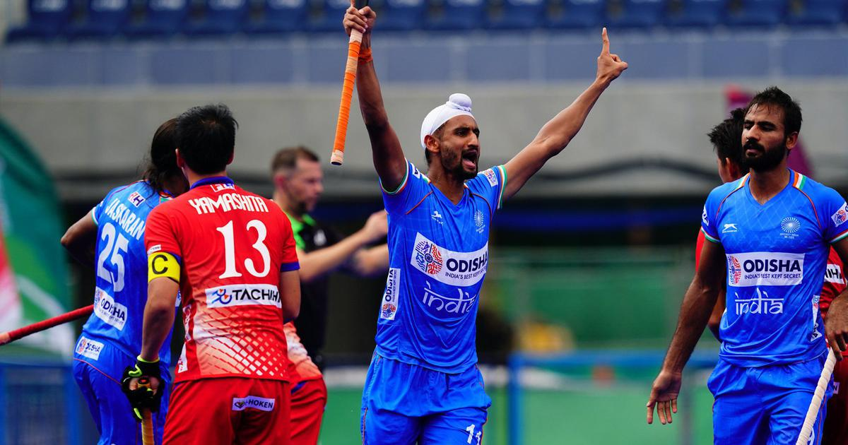 Hockey: Mandeep Singh scores hat-trick as India crush Japan 6-3 to reach final of Olympic test event