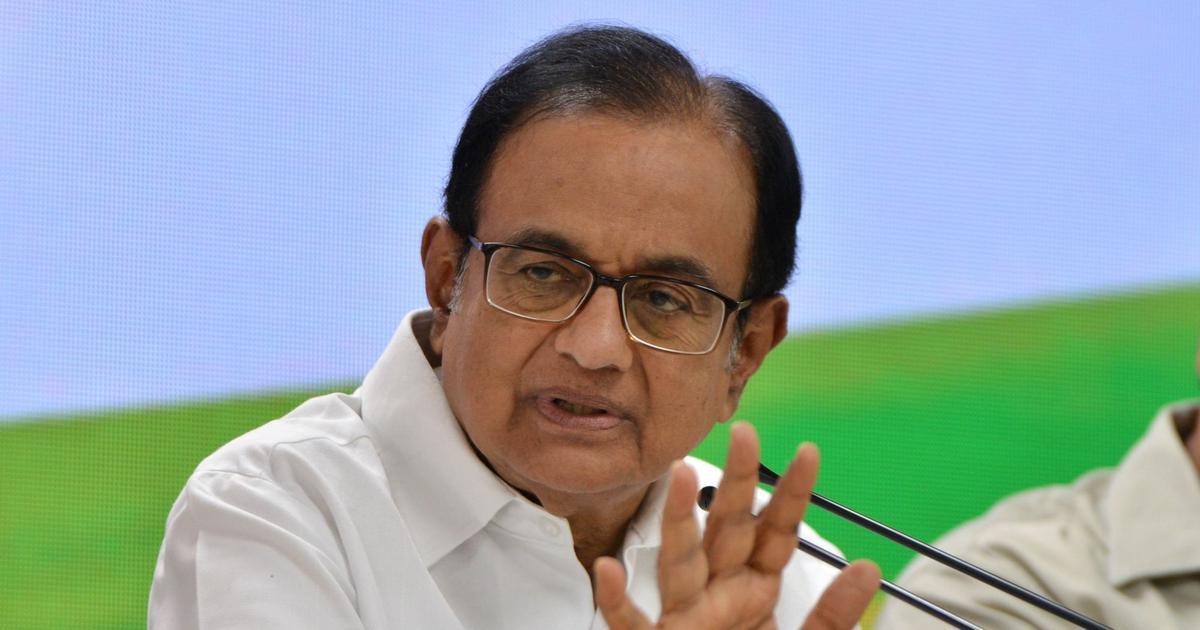 Election results show Congress has zero or weakened organisational presence on ground: Chidambaram