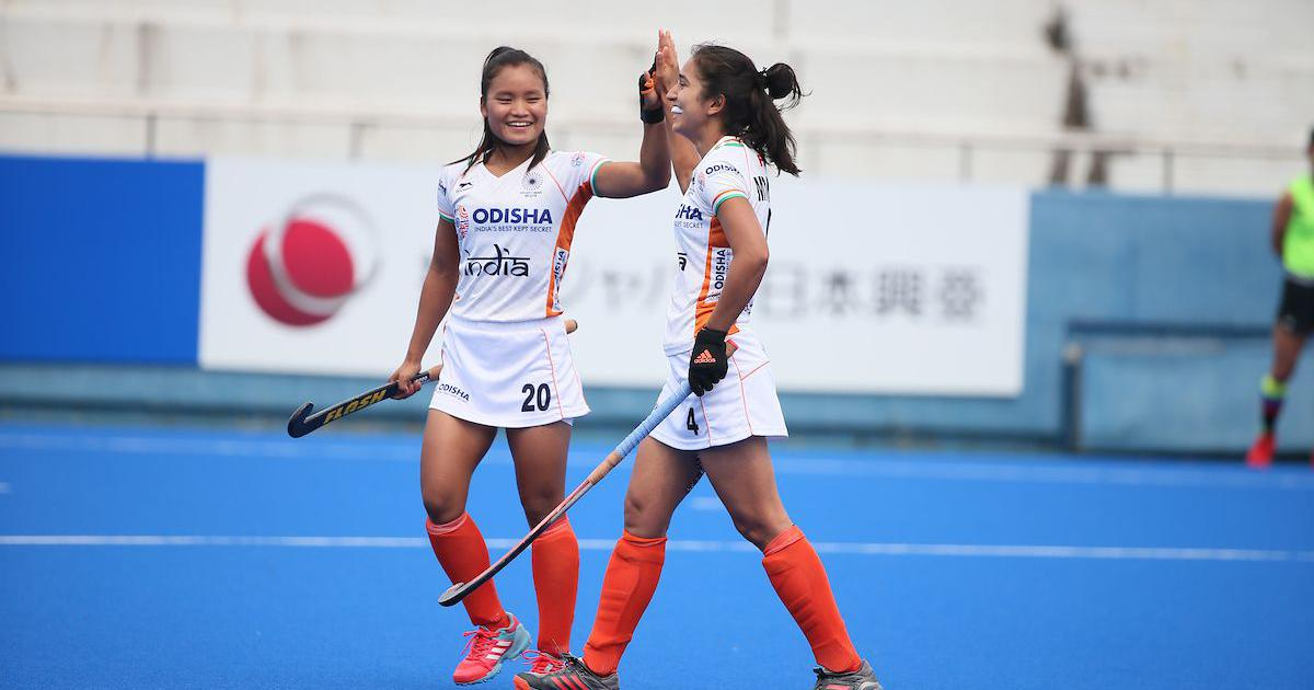 Hockey: Navjot Kaur, Lalremsiami score as India stave off spirited Japan to win Olympic Test event