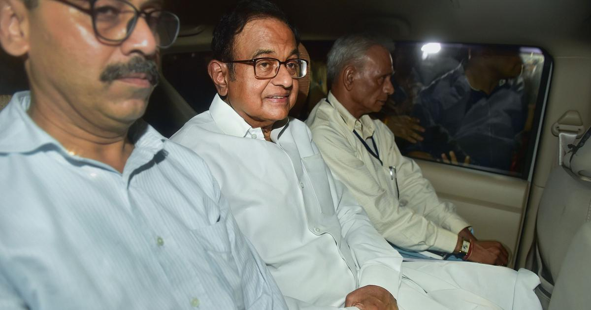 P Chidambaram arrested amid high drama shortly after he shows up in public to deny he is in hiding