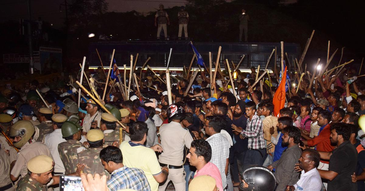 Ravidas temple demolition: Bhim Army's Chandrashekhar Azad detained after protests turn violent