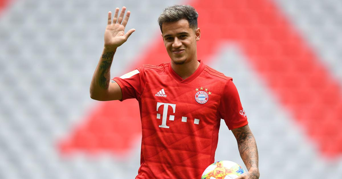 Bayern Munich not interested in shelling out $130 million to buy on-loan Brazilian star Coutinho