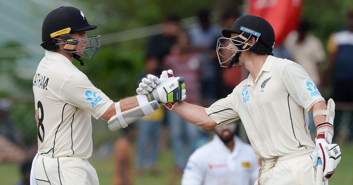 Tom Latham, BJ Watling help New Zealand gain first-innings lead against Sri Lanka in rain-hit Test