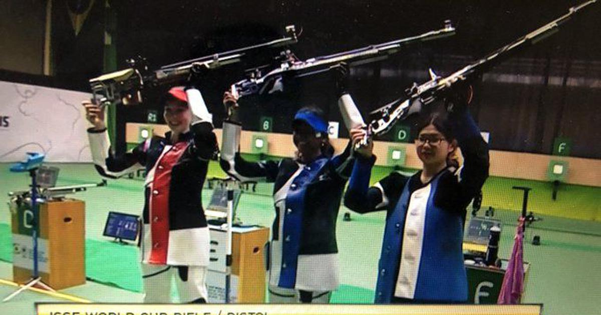 Shooting: Elavenil Valarivan wins first senior medal with gold at Rio ISSF World Cup