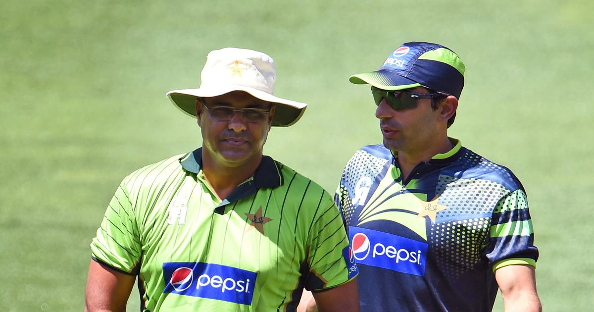 Image result for The Misbah Waqar Duo