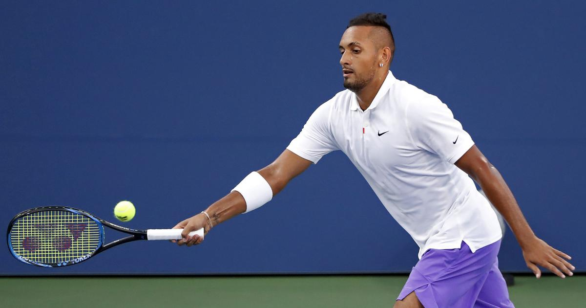 Kyrgios sets up US Open Round 3 date with Rublev