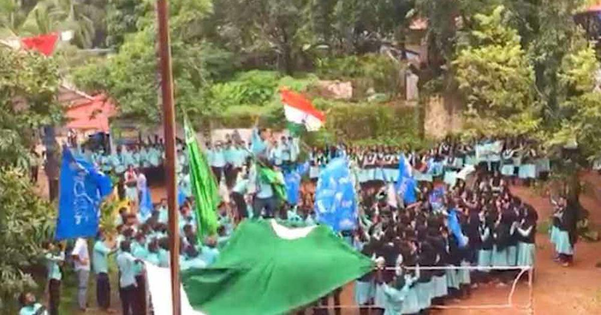 Kerala students wrongly reported to have raised Pakistani flag in stories by Times Now, others
