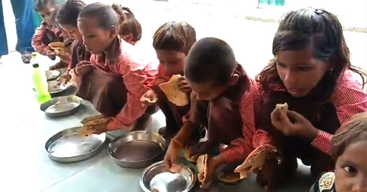 Salt and roti lunch shows that UP students aren't just missing a meal – they're missing an education