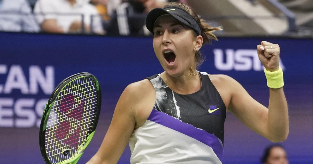US Open day 8 women's singles round-up: Bencic ousts defending champ Osaka; Vekic prevails in three