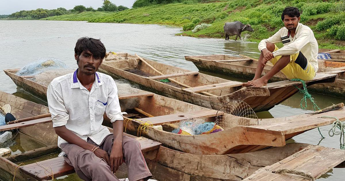 From farming to fishing: Occupational change hasn't helped the people affected by dams on Narmada