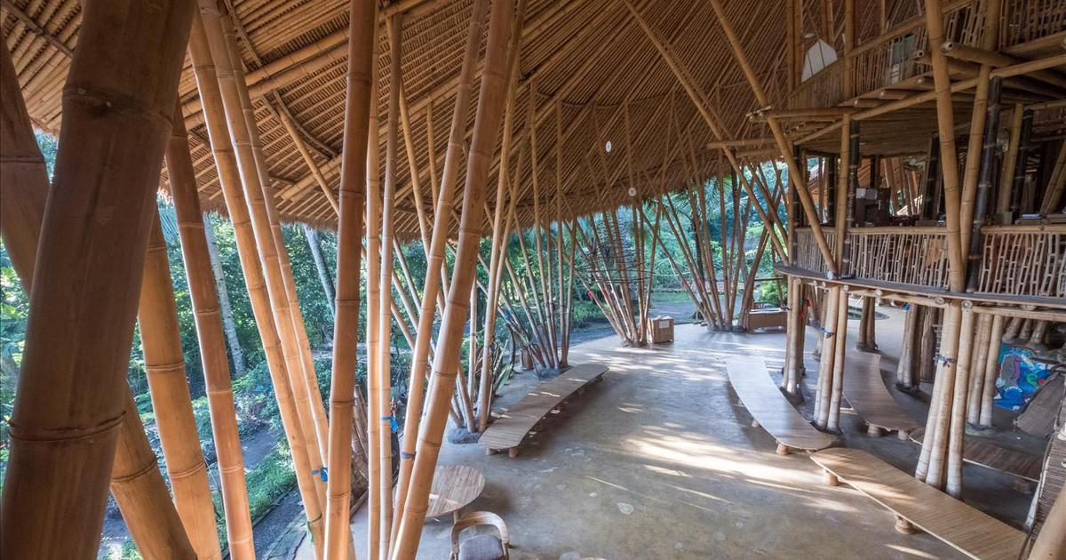 A school in Bali is inspiring a global renaissance in bamboo architecture