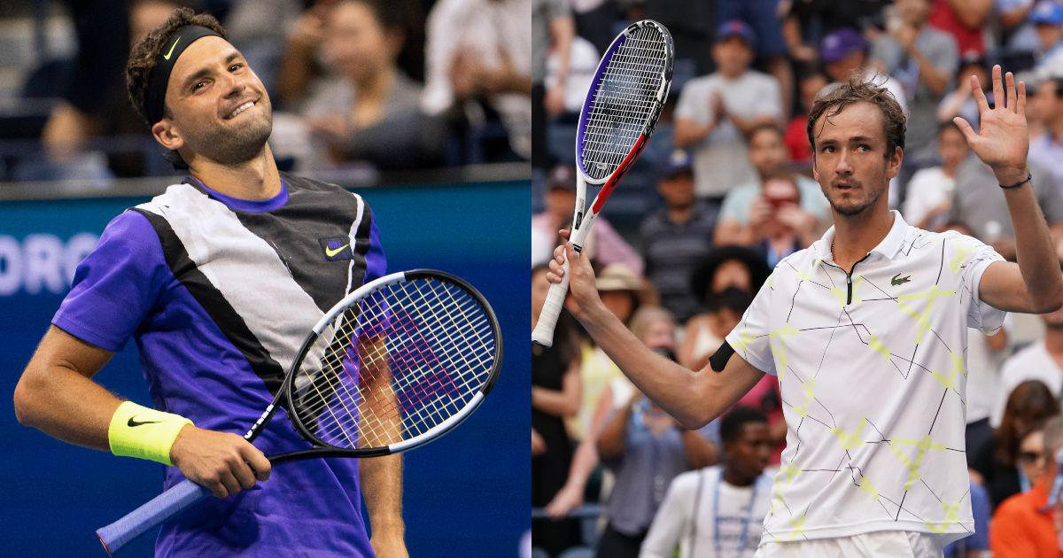 US Open: With contrasting routes and games, Medvedev and Dimitrov set up unexpected semi-final