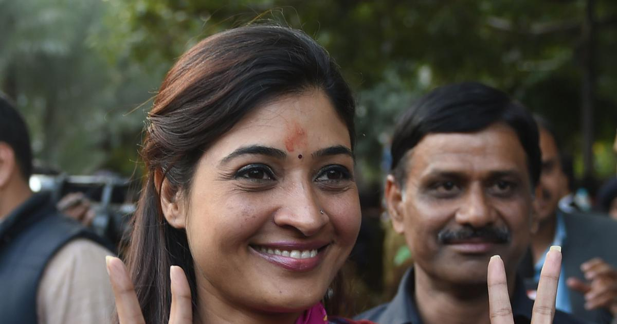 Delhi MLA Alka Lamba quits Aam Aadmi Party, likely to join Congress