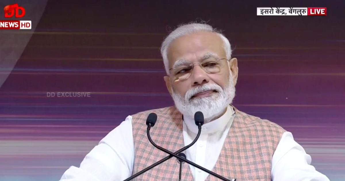 Chandrayaan-2 news: Modi addresses nation, reassures ISRO
