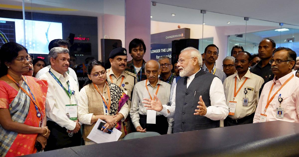 Chandrayaan-2: 'Resolve to touch moon is even stronger,' PM Modi tells ISRO scientists