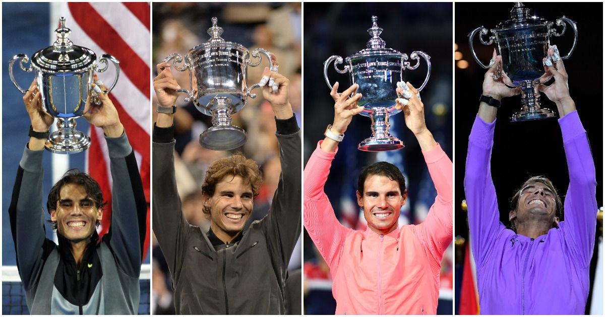 Nadal's fabulous four: A look at the Spaniard's four Flushing Meadows victories