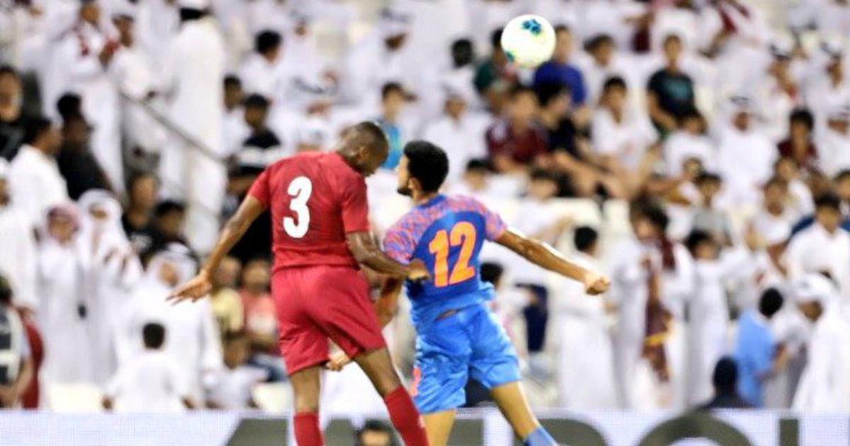 भारत ने सबको चौंकाया, फुटबॉल विश्व कप क्वालिफायर में एशियाई चैंपियन कतर को बराबरी पर रोका