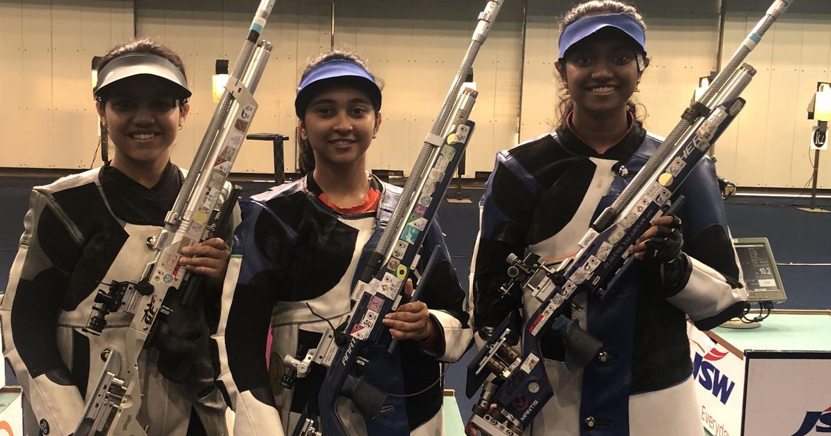Shooting: Mehuli Ghosh sweeps sixth and seventh women's air rifle national trials