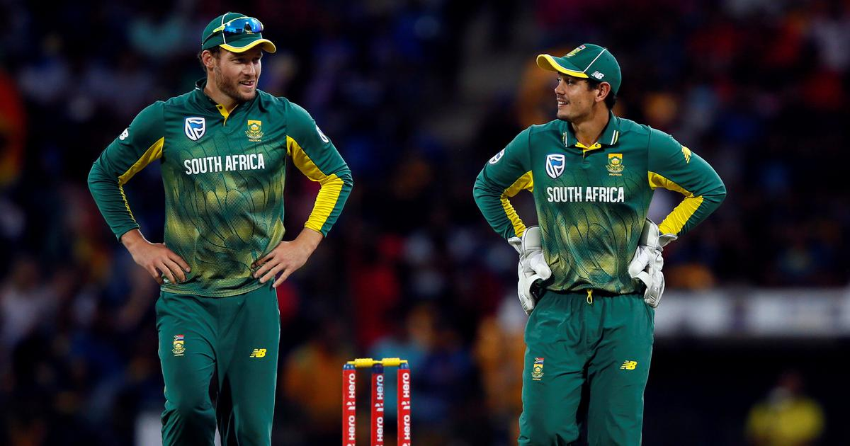Ready to support captain Quinton de Kock in whichever role, says South Africa's David Miller