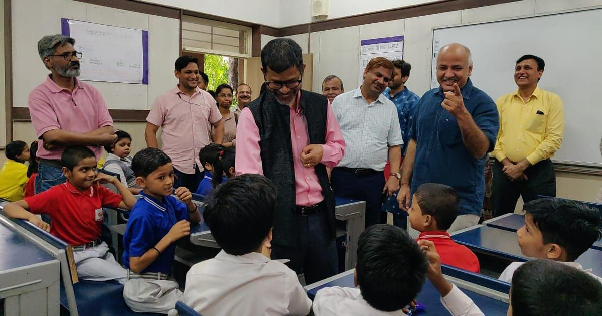 How the AAP's Manish Sisodia came to start a happiness class in Delhi's government schools