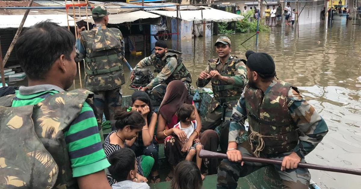 Rajasthan: Floods cause havoc in many districts, over 300 children, 25 teachers trapped in a school