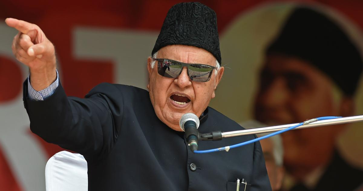 Farooq Abdullah never said Article 370 may be restored with Chinese help, says National Conference