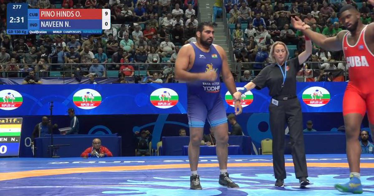 World Wrestling C'ships: Naveen hoping for repechage chance, two other Greco-Roman grapplers out