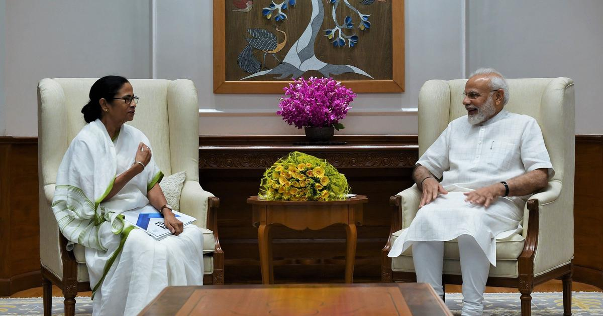 New Delhi: Mamata Banerjee meets PM Modi, discusses plan to rename West Bengal