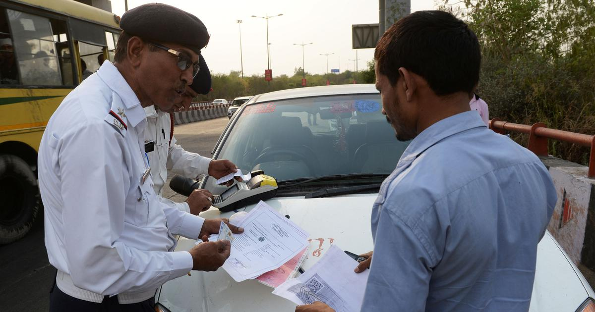 New policy of steep fines for traffic violations is changing behaviour but  also provoking debate