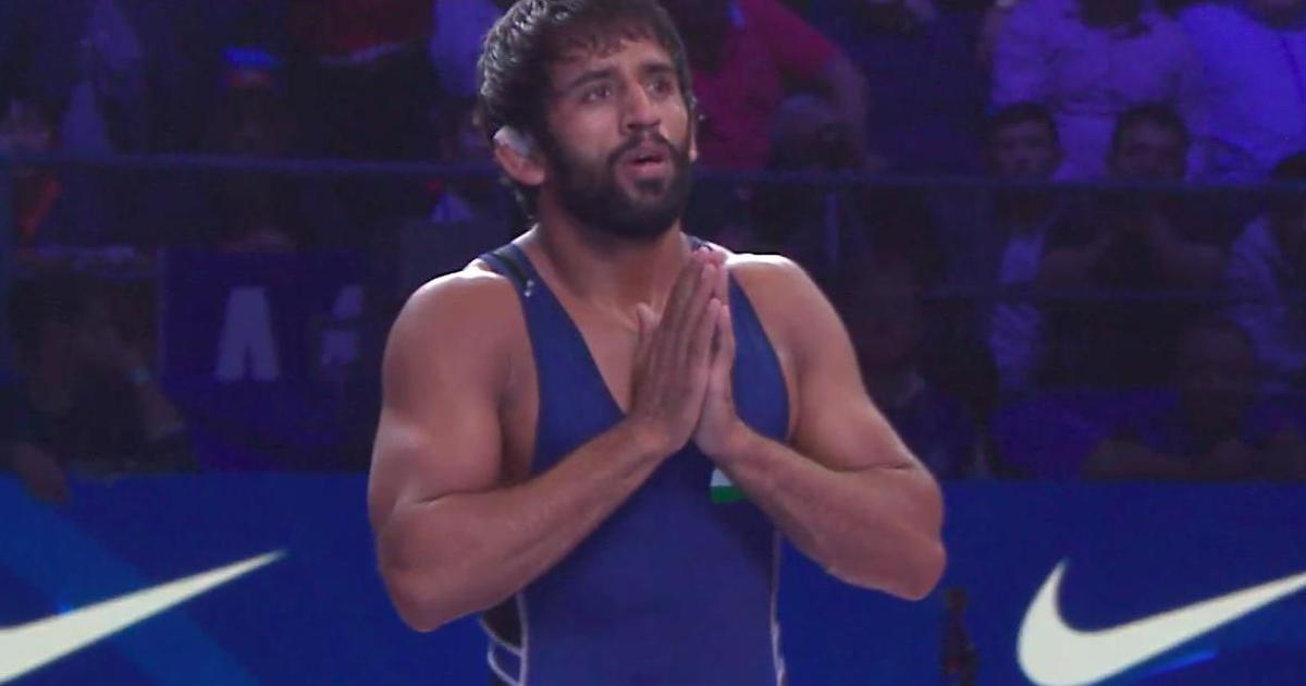 Wrestling World Championships: Bajrang Punia clinches bronze medal with stirring fightback