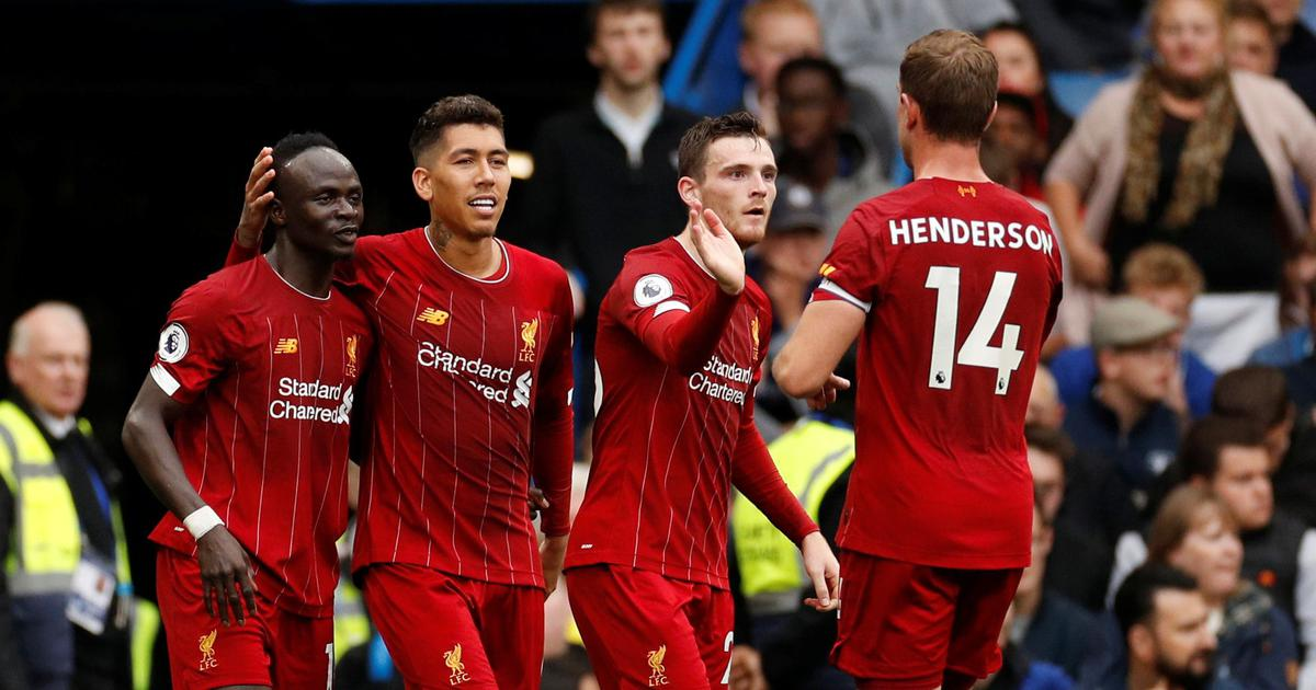 Premier League: Liverpool maintain perfect start with win over Chelsea; 10-man Arsenal down Villa