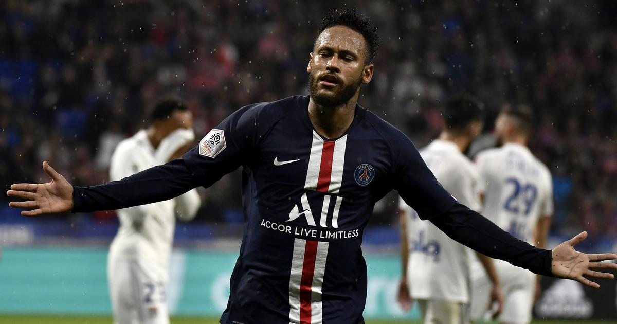 League 1: Neymar's late winner against Lyon takes PSG three points clear at the top
