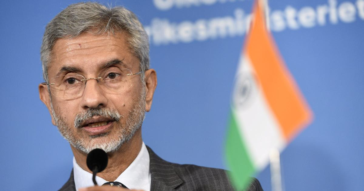 Indian foreign minister cancels meeting with U.S. lawmakers over Kashmir criticism