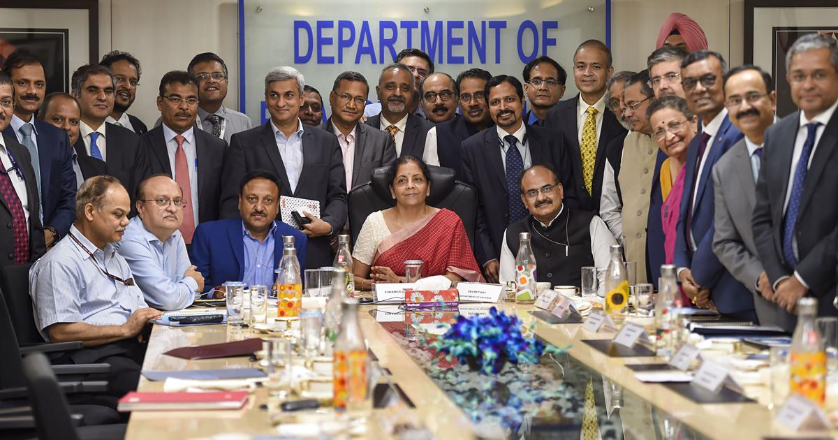 Image result for There's No Liquidity Crisis: Finance Minister Nirmala Sitharaman After Meeting Bank Chiefs