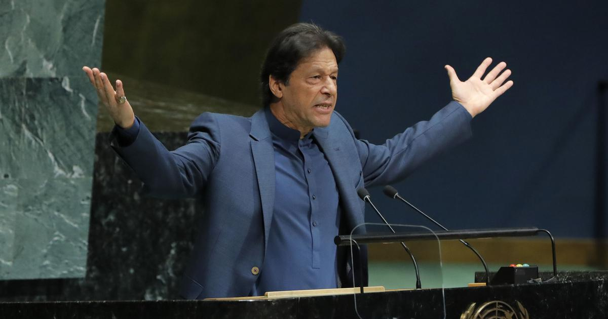 Imran Khan lashes out at India, urges UN to demand lifting of 'inhuman curfew' in Kashmir