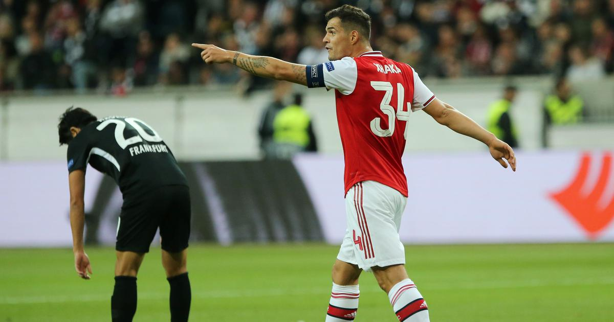 Granit Xhaka dropped as Arsenal captain after meltdown against fans, Aubameyang to take over