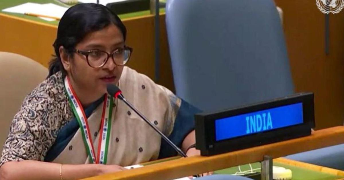 India rejects Pakistan's reference to Kashmir dispute at UN, says should focus on tackling terrorism