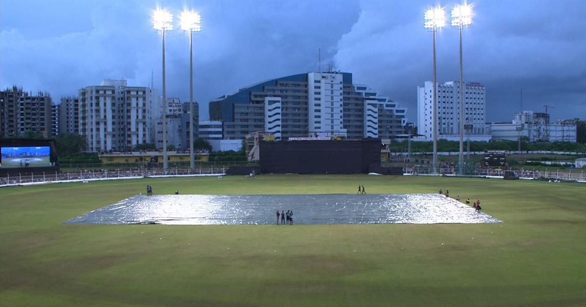 Third T20I: Rain, wet outfield results in back-to-back washouts between India and South Africa