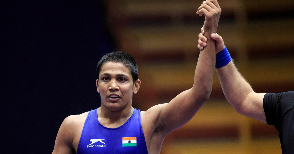Gourav Baliyan leads way as Indian wrestling's young guard steals show at National Championships