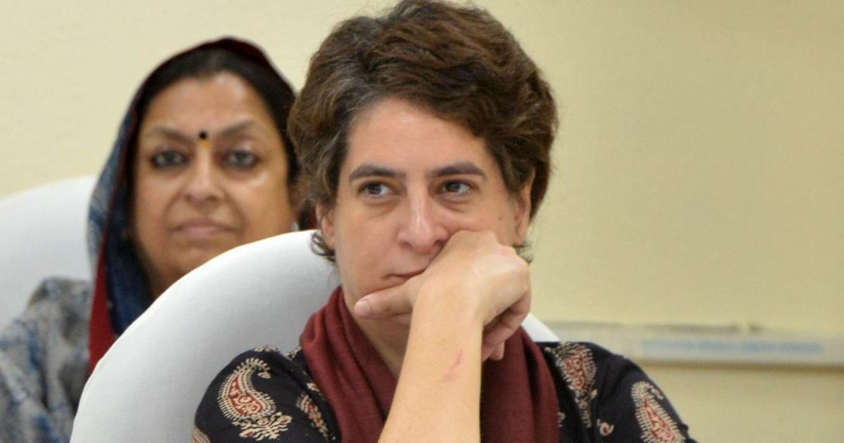 'Pursue path of truth, then talk about Gandhiji': Priyanka Gandhi hits out at BJP