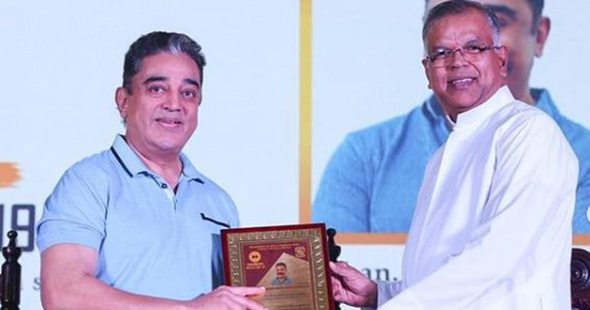 Hindi is a little child in diapers when compared to Tamil, says Kamal Haasan