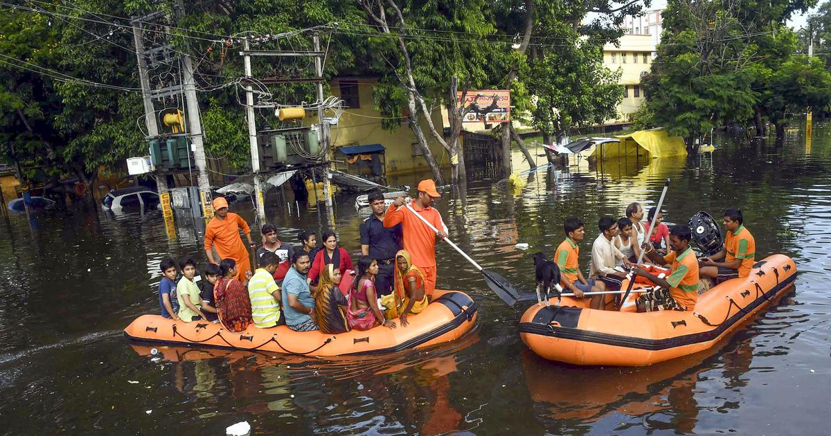 At least 42 dead in rain-related incidents in Bihar, orange alert issued in three districts