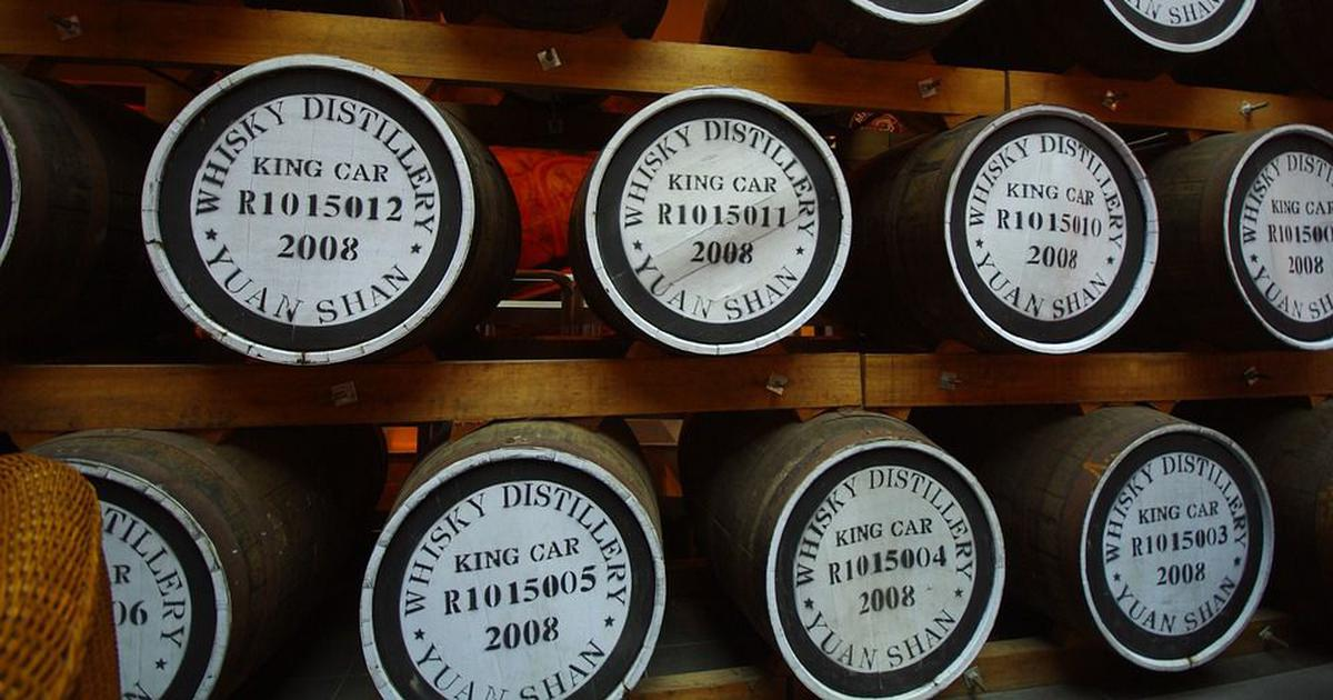 Within 13 years, Taiwan has become a global powerhouse in whisky production