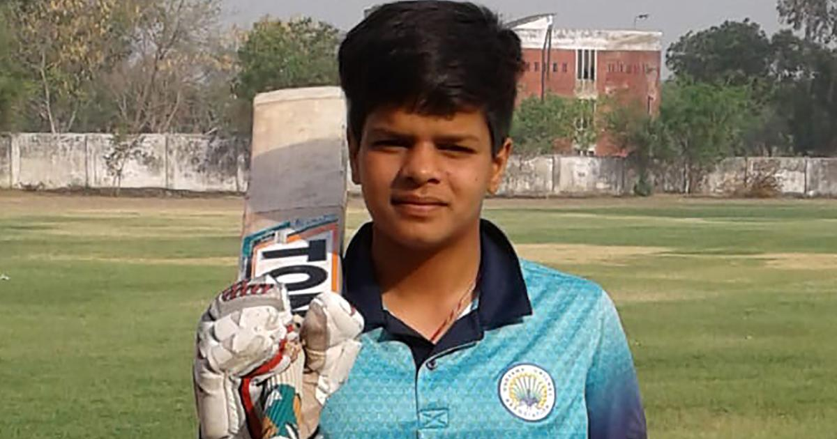 Shafali Verma becomes youngest Indian to score international fifty, breaks Sachin Tendulkar's record